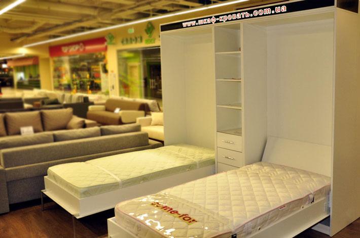 Односпальные подъемные кровати