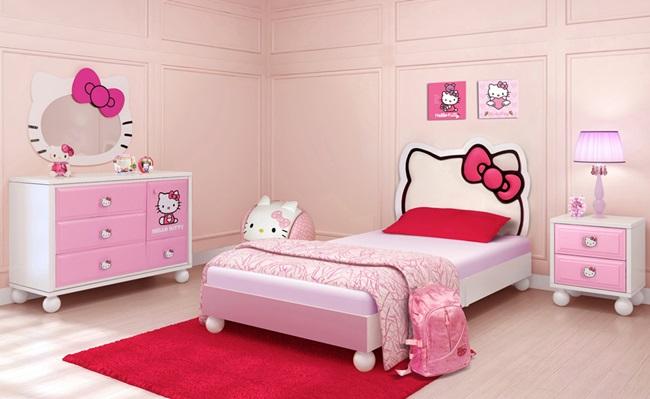 Оригинальная и безопасная кровать для девочки