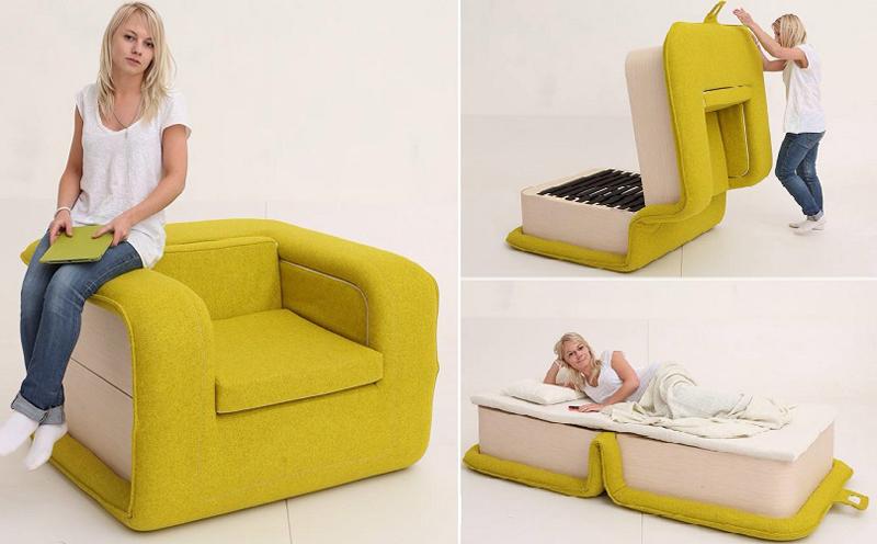 Оригинальное кресло кровать