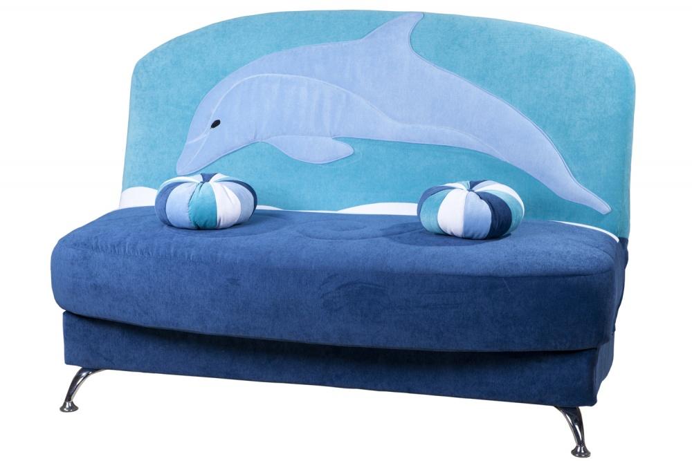 Оригинальный диван дельфин