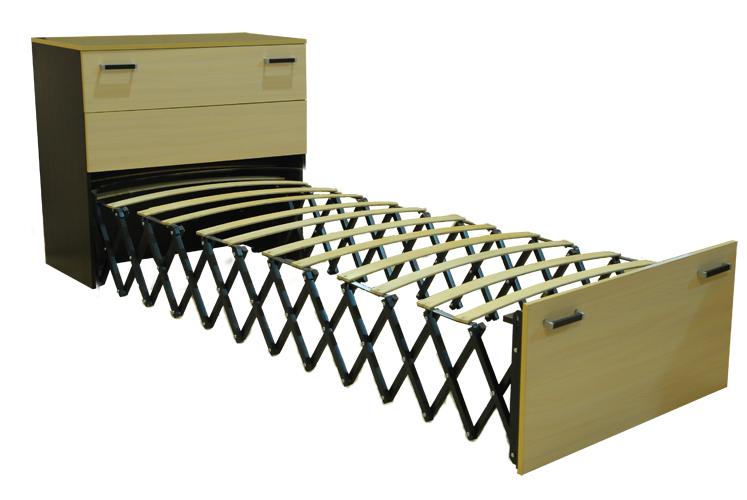 Оригинальный раскладной шкаф