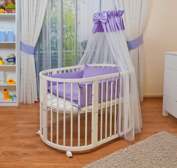 Овальная кровать для новорожденных