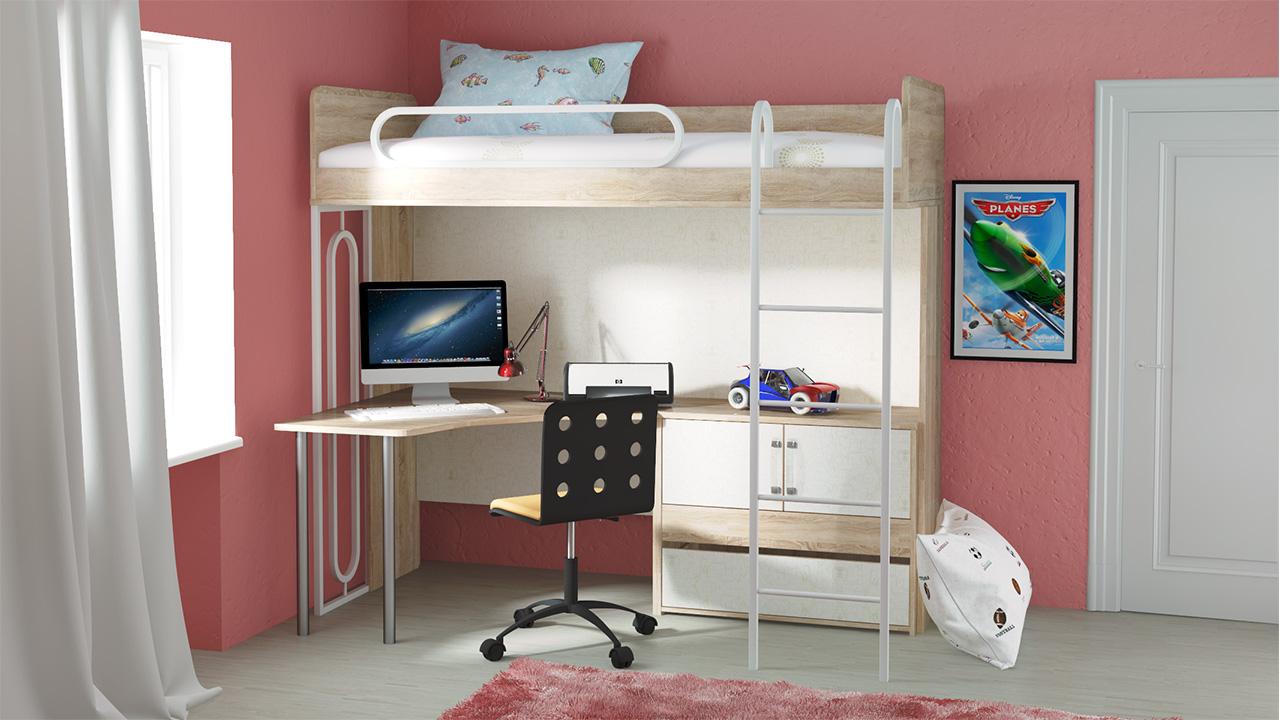 Польза и функциональность кровати чердака
