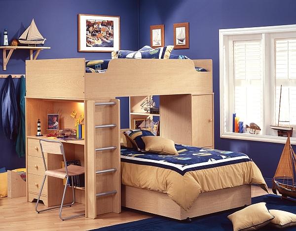 Потрясающая двухъярусная кровать чердак