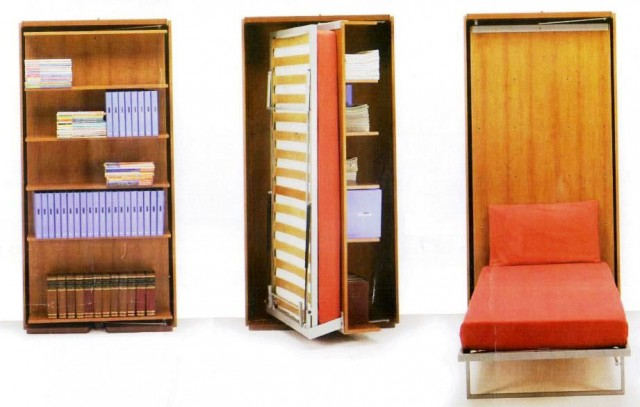 Поворотно-откидной шкаф кровать
