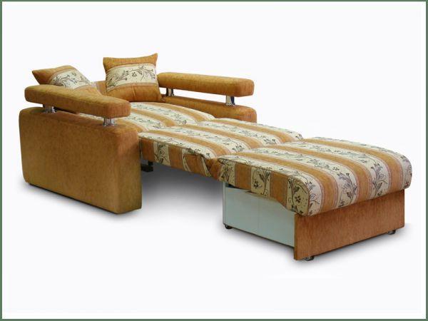 Преимущества и недостатки кресла-кровати с ящиком для белья