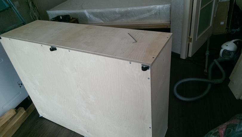 Готовый прикроватный ящик