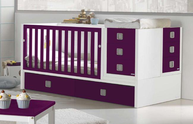 Прямоугольная кровать для новорожденных