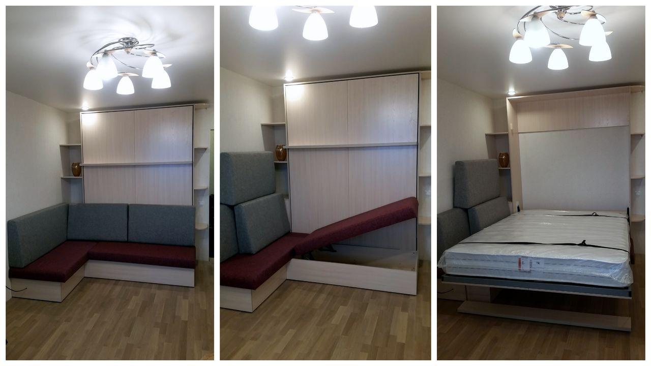 Раскладной шкаф кровать