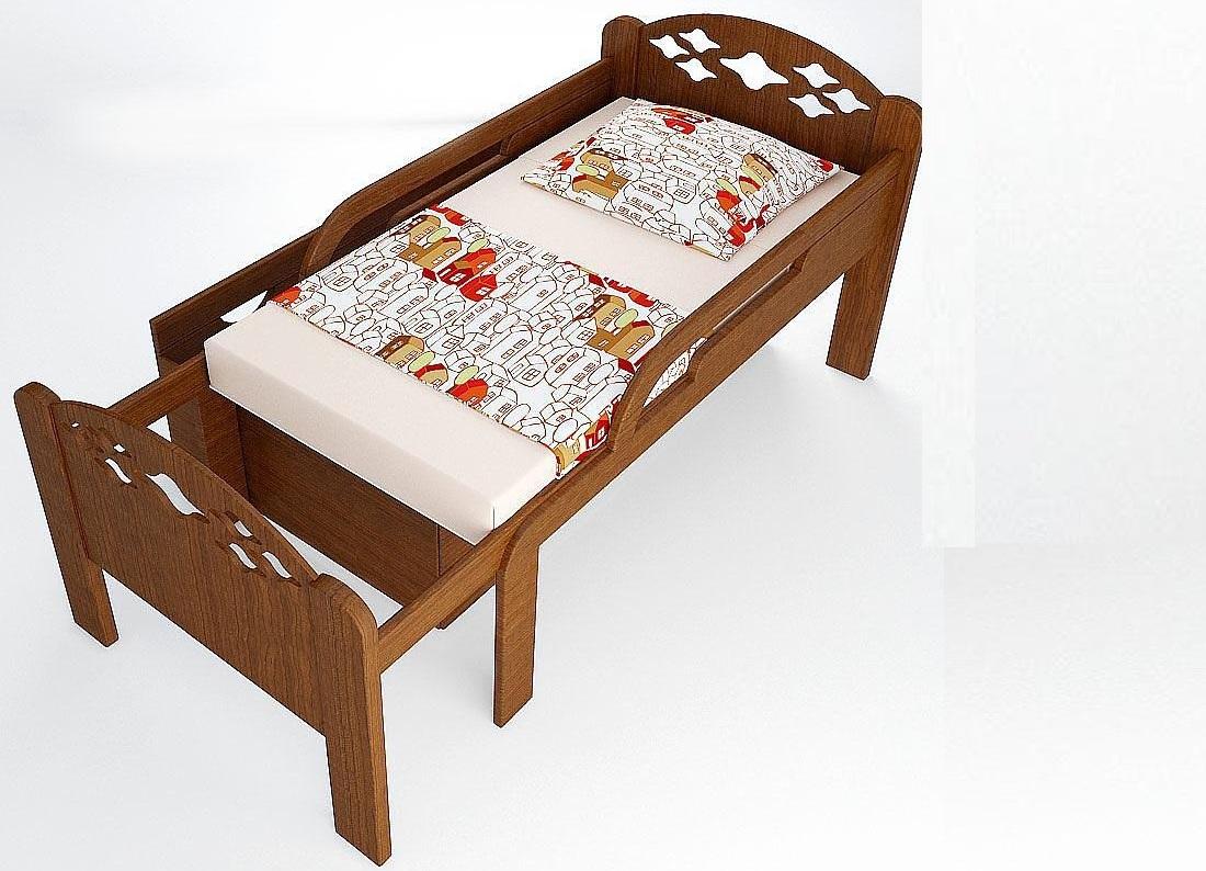 Раздвижной трансформер кровать детям от 3 лет