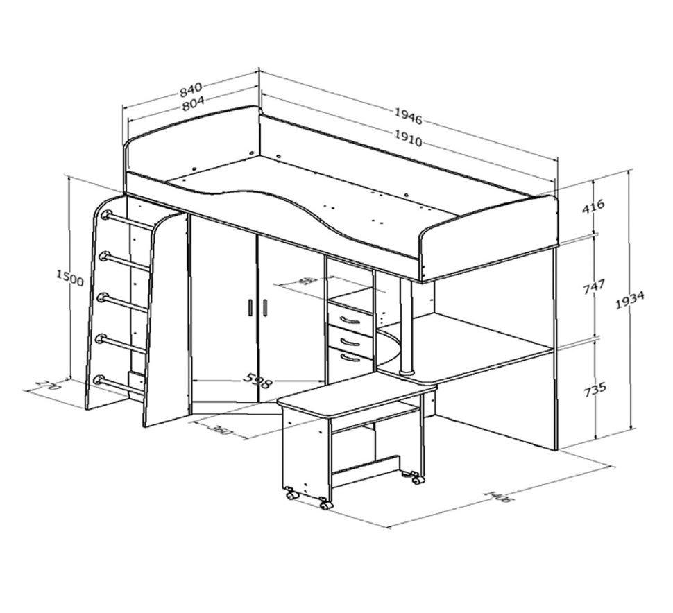Инструкция по сборке кровати чердак бемби-4 stanokt.