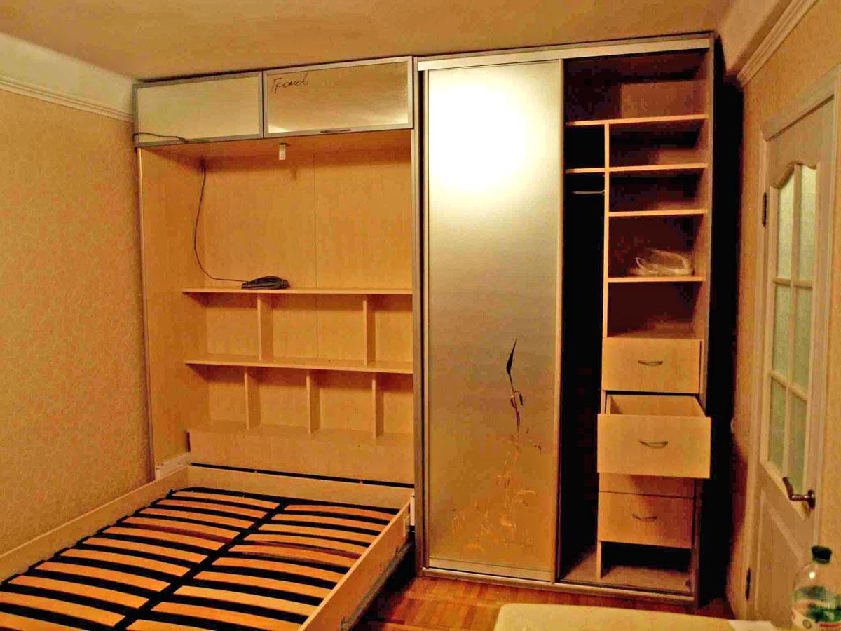 Шкаф кровать из ДСП