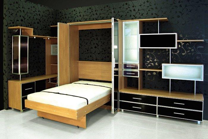 Шкаф кровать из дерева