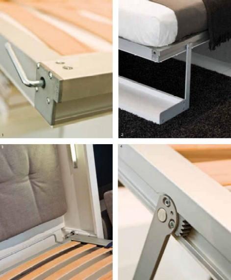 Шкаф кровать на петлях