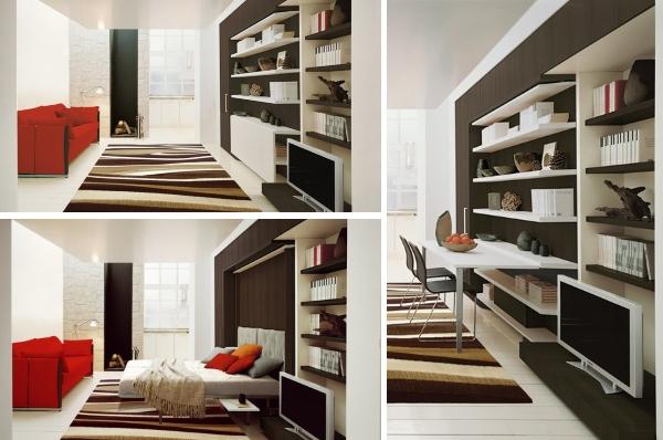 Шкаф кровать со столом