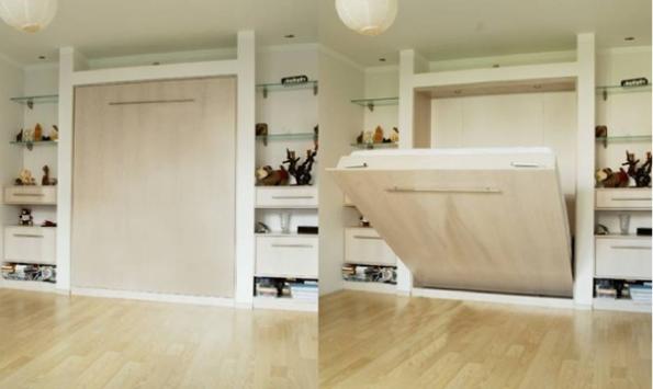 Шкаф кровать в нише