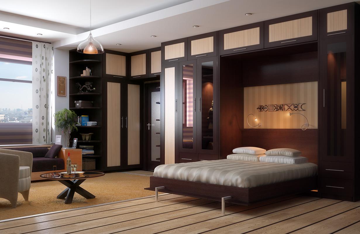 Шкаф кровати