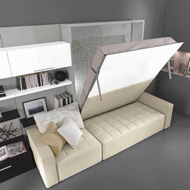 Шкаф откидная кровать трансформер, подъемная мебель