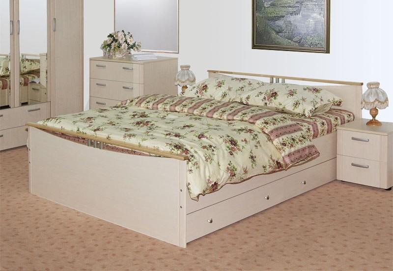 Современная кровать в интерьере