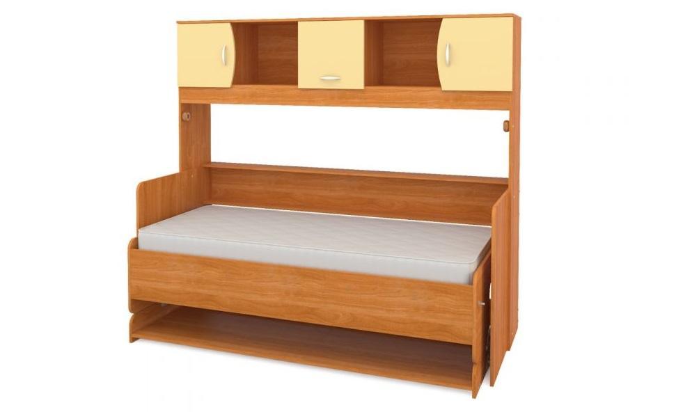 Стол кровать с деревянным коробом