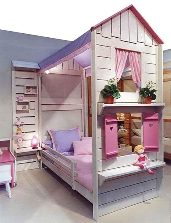 Тематическая кровать для детской