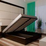 Двуспальные кровати с подъемным механизмом, виды и рекомендации