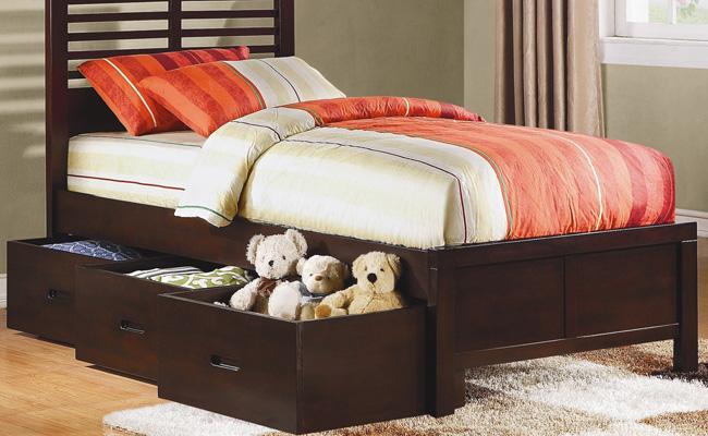 Выдвижные ящики для кровати