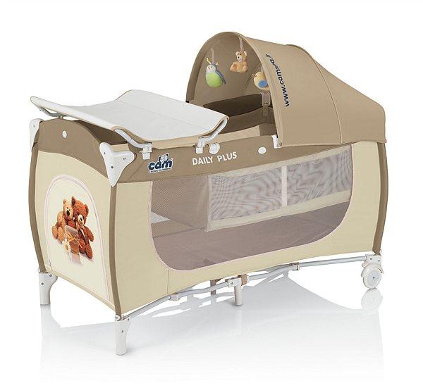 Тканевая кровать для новорожденного