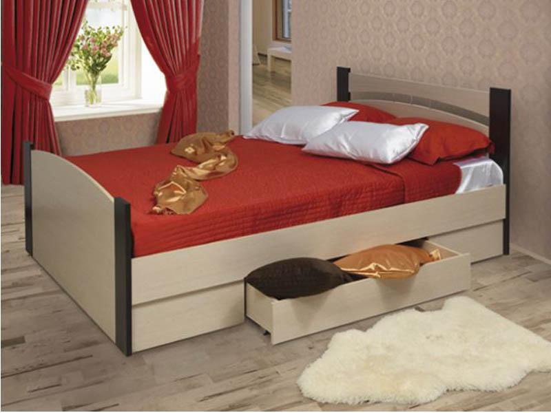 Удобная и стильная кровать