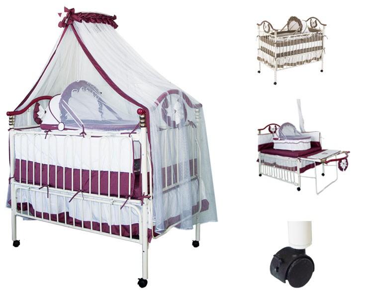Удобная кровать для новорожденных