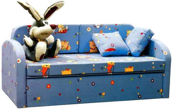 Удобный детский диван