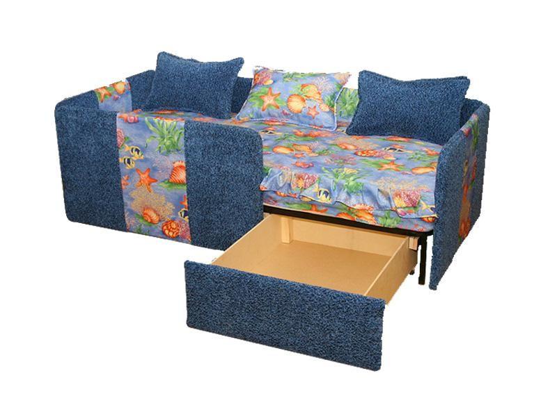 Удобный диван кровать с бортами