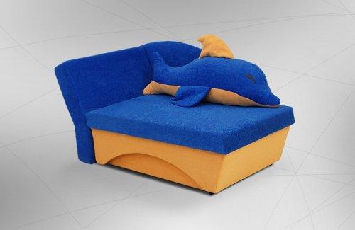 Угловой диван кровать дельфин