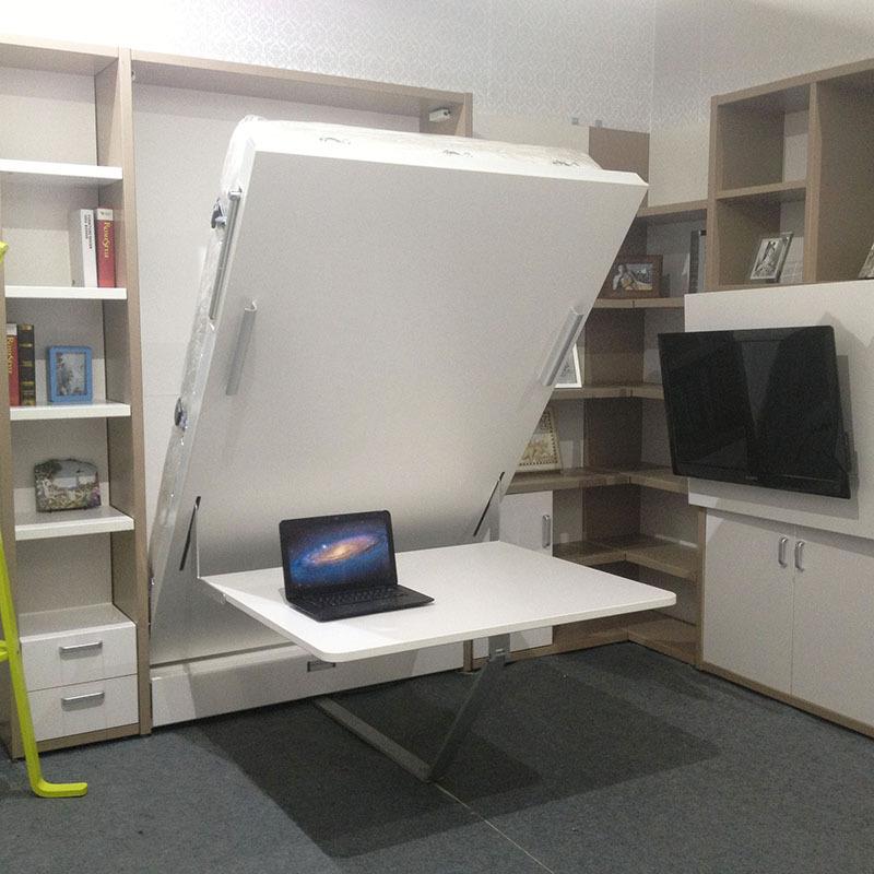 Вертикальный стол кровать