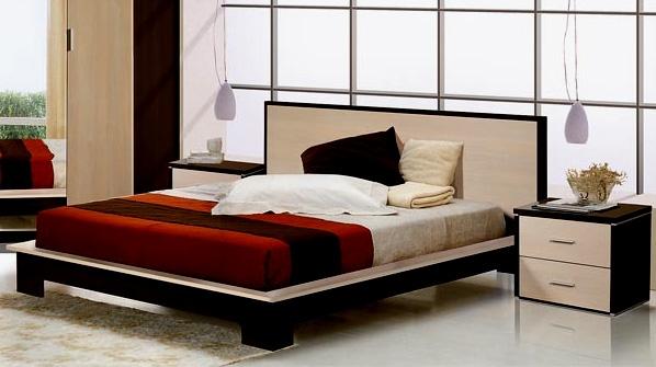 Виды кроватей, у которых мягкое изголовье
