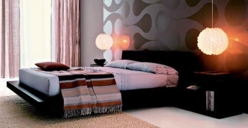 Восточная кровать подиум