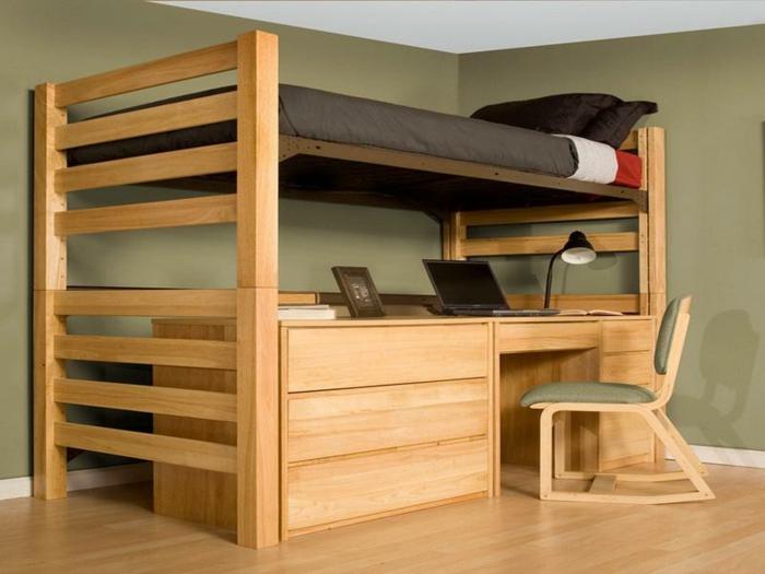 Выбор кровати чердака