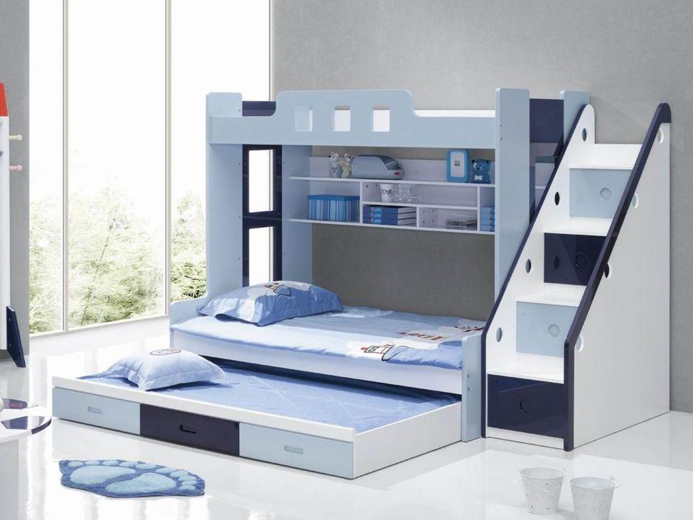 Выдвижная кровать для троих мальчиков