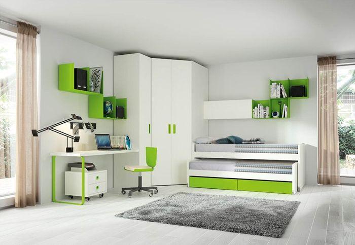 Выдвижная кровать в интерьере