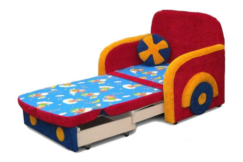 Яркая кресло кровать