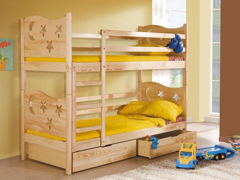 Детские двухъярусные кровати своими руками фото
