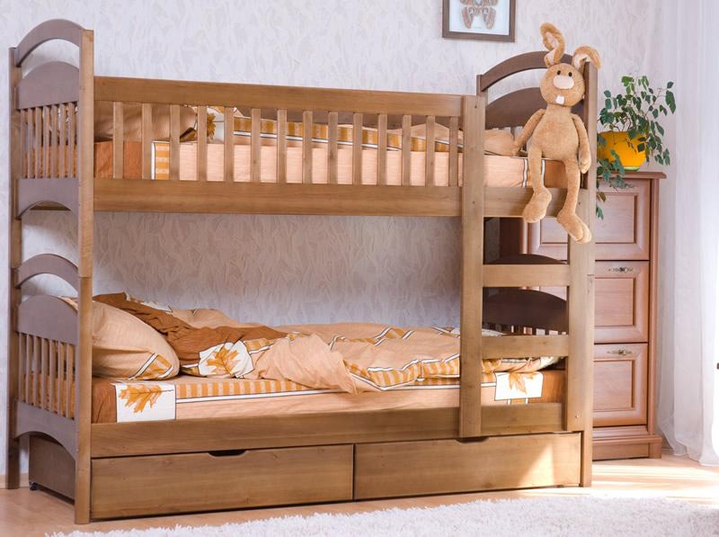 Детская кровать на два этажа