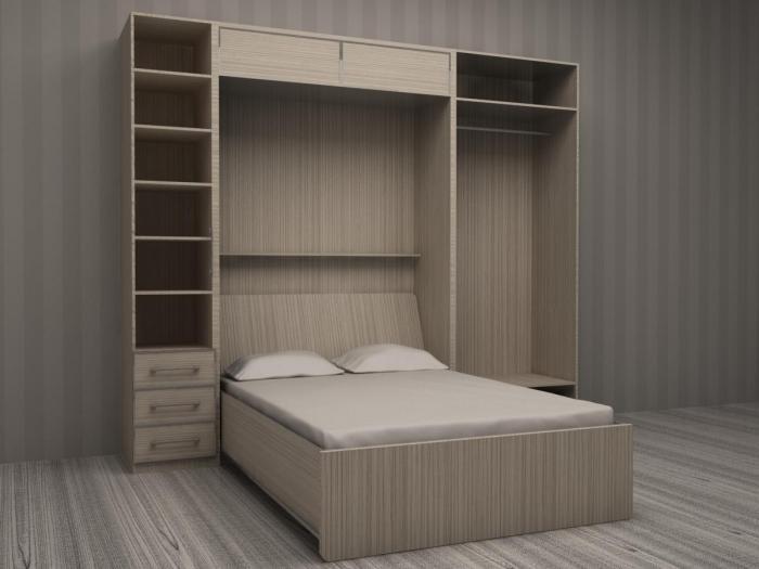 Кровать из плит МДФ