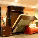 Варианты двуспальной кровати трансформер и критерии выбора