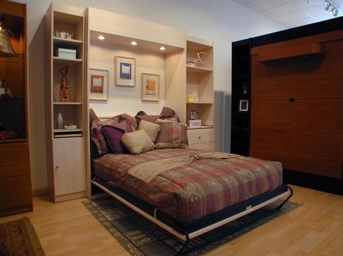 Трансформер шкаф кровать в гостиную