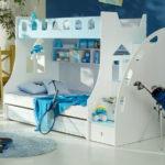 Какую выбрать двухъярусную кровать, фото моделей