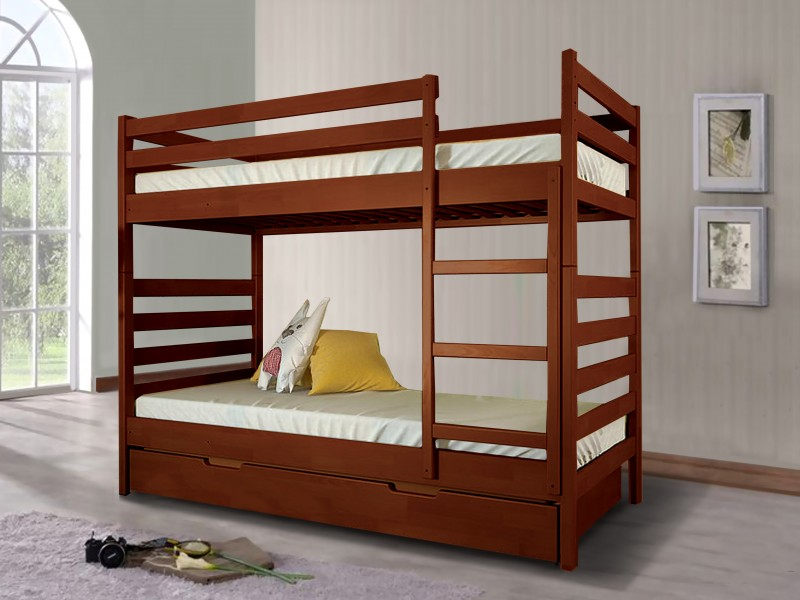 Кровать из древесины