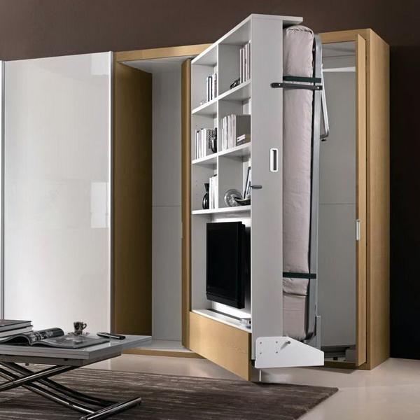 Кровать шкаф в разобранном виде