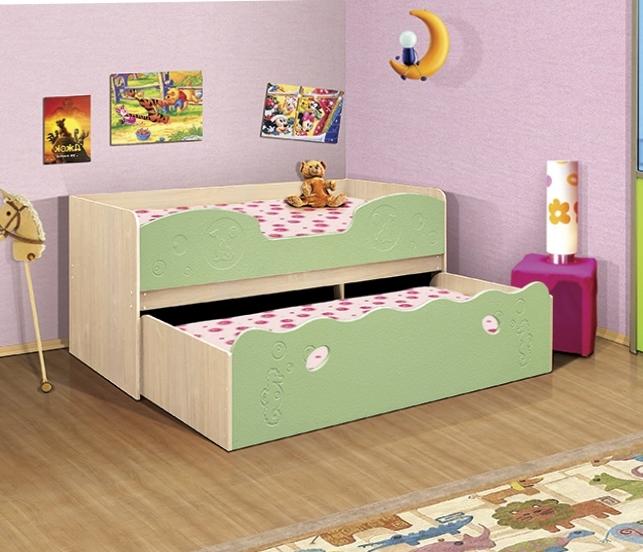Удобная кровать с выкатным механизмом