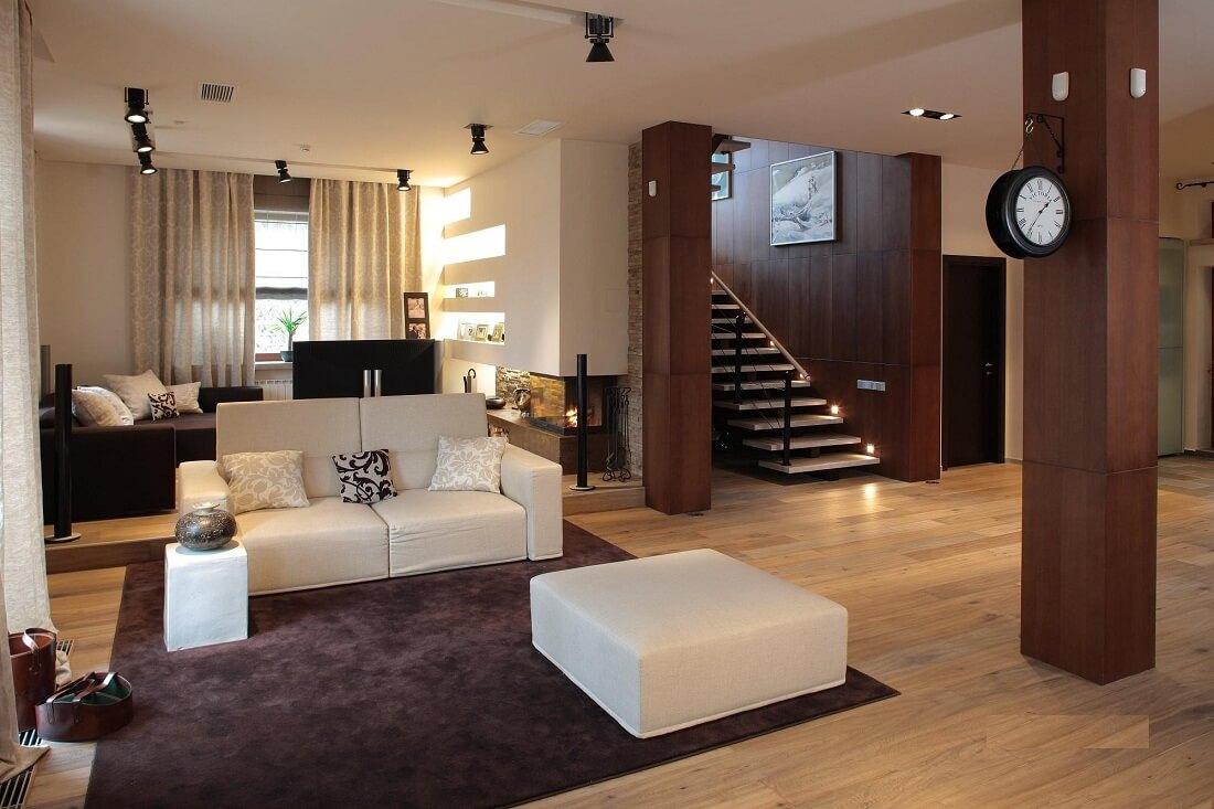 Изысканная мебель в гостиной